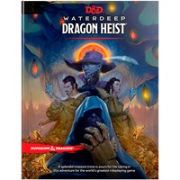 D&D Adventure Waterdeep Dragon Heist Dungeons & Dragons Scenario Level 1-5